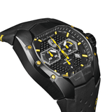 Tonino Lamborghini GT1 Chronograph Black-Yellow Men's Watch T9GE