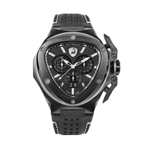 Tonino Lamborghini Spyder X Chronograph Black-White Men's Watch T9XD