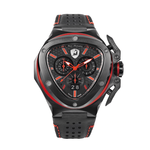 Tonino Lamborghini Spyder Chronograph Red-Black Men's Watch T9XA