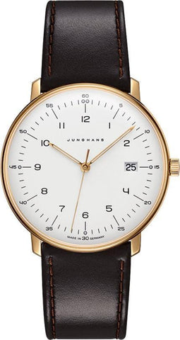 Junghans Max Bill Quartz PVD Men's Watch 041/7872.04