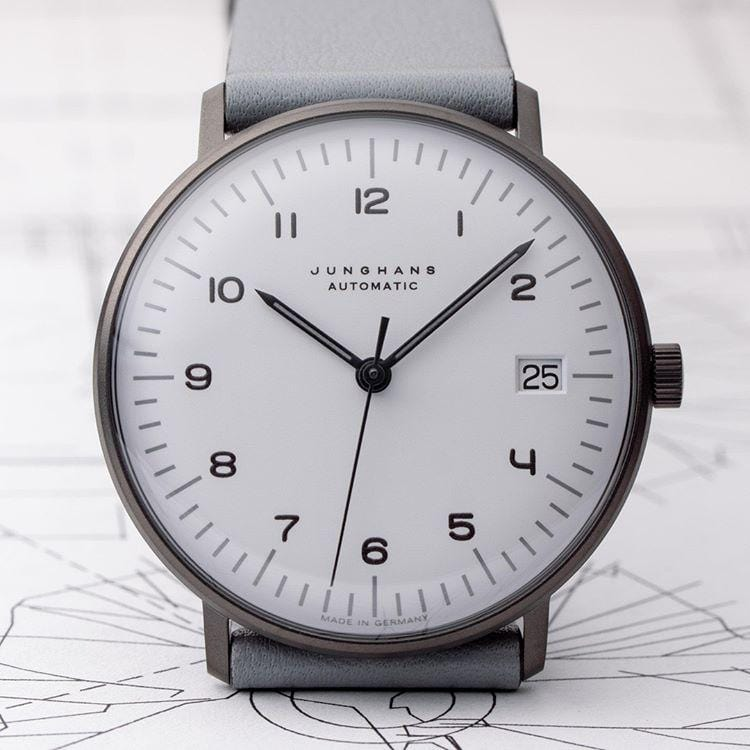 Junghans Max Bill Kleine Automatic 34mm White Dial Unisex Watch 027/4006.04