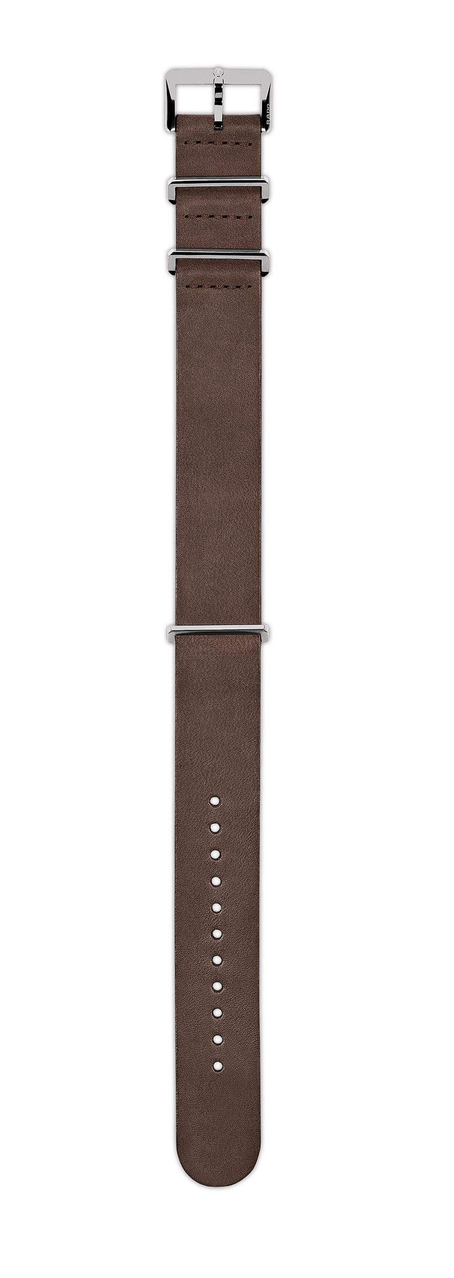 Rado Captain Cook Brown Nato Leather Strap R070913801