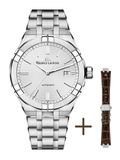 Maurice Lacroix AIKON 42mm Automatic Stainless Steel + Extra Strap Men's Watch AI6008-SS002-130-2
