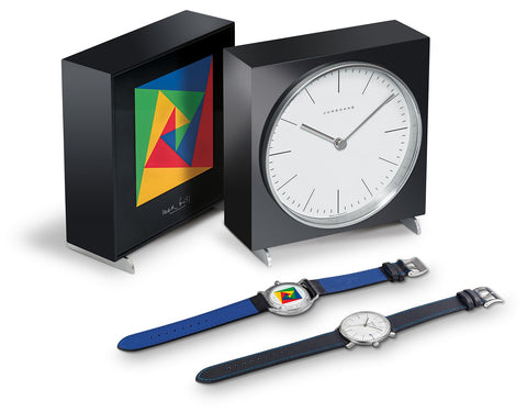 Junghans Max Bill Limited Edition Set 2018 + Max Bill Table Clock 363/2816.00