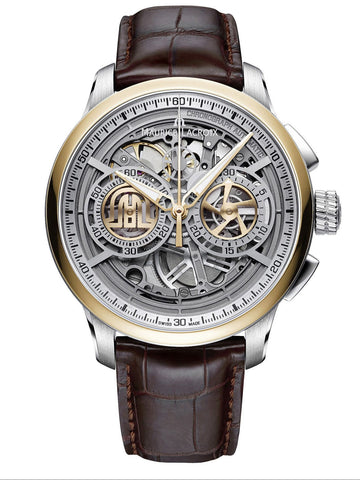 Maurice Lacroix MASTERPIECE Chronograph Skeleton 45mm Men's Watch MP6028-PS101-001-1