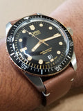 Oris Divers Sixty-Five Bronze Brown Leather Band Men's Watch 01 733 7707 4354-07 5 20 45