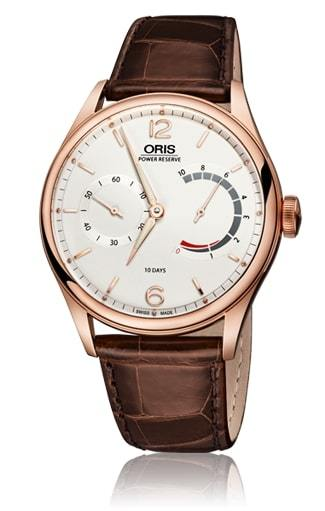 Oris Artelier 110 Year Limited Edition 18K Rose Gold Case Men's Watch 01 110 7700 6081-Set LS
