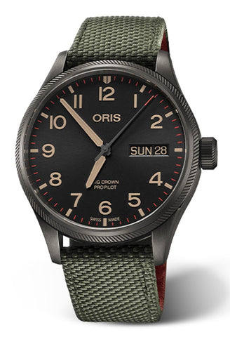 Oris 40th Squadron Limited Edition Big Crown ProPilot Men's Watch 01 752 7698 4274-Set TS