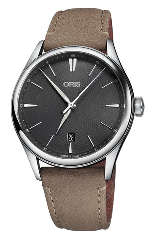 Oris Artelier Date Grey Dial 40mm Men's Watch 01 733 7721 4053-07 5 21 32FC