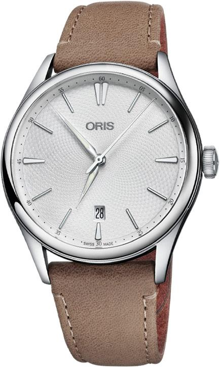 Oris Artelier Date Silver Dial 40mm Men's Watch 01 733 7721 4051-07 5 21 32FC