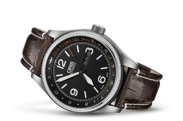 Oris Big Crown Royal Flying Doctor Service Limited Edition II Men's Watch 01 735 7728 4084-Set LS Kroko