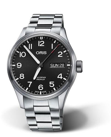 Oris 55th Reno Air Races Limited Edition Stainless Steel Men's Watch 01 752 7698 4194-Set MB