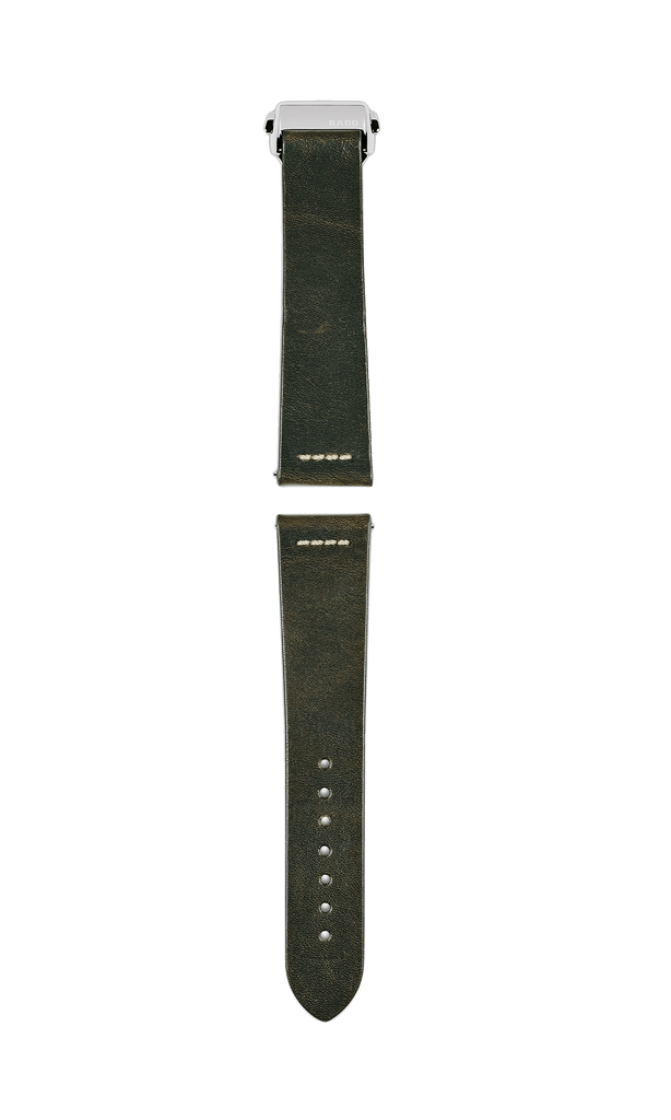 Rado Captain Cook 2-Piece Dark Olive Green Leather Strap R070912801