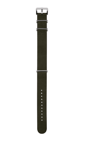 Rado Captain Cook NATO Dark Olive Green Leather Strap R070913301