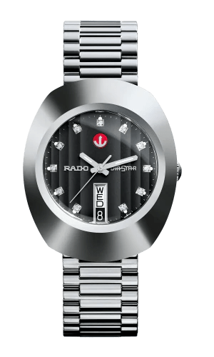 RADO The Original Automatic Black Dial Stainless Steel Men's Watch R12408613