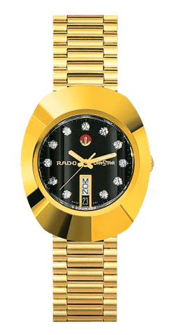 RADO The Original Automatic Yellow Gold Stainless Steel Men's Watch R12413613