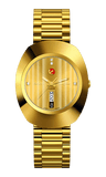 RADO The Original Automatic Diamonds Yellow Gold PVD Men's Watch R12413773