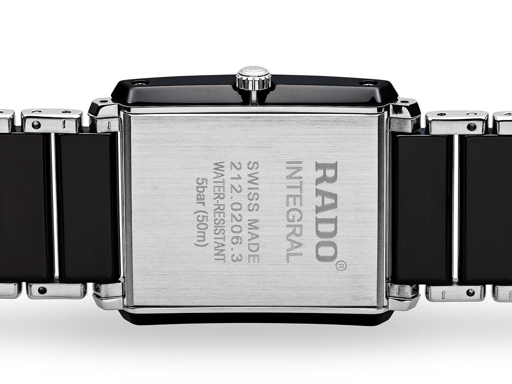 RADO Integral Diamonds 31mm Ceramic-Stainless Steel Black Men's Watch R20206712