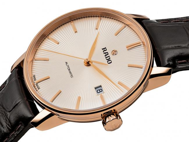 RADO Coupole Classic Automatic Champagne Dial Men's Watch R22861115