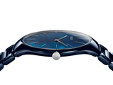 RADO True Thinline Grandi Giardini Italiani Blue High-Tech Ceramic Women's Watch R27005902