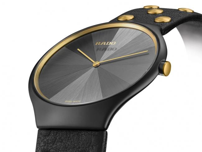 RADO True Thinline Studs Limited Edition Marquetry Dial Women's Watch R27012105