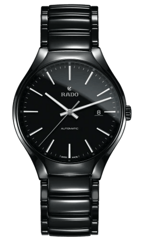 RADO True Automatic 40mm Black High-Tech Ceramic Men's Watch R27056152