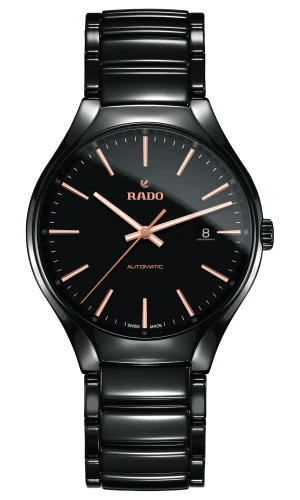 RADO True Automatic 40mm Black High-Tech Ceramic Men's Watch R27056162