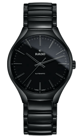 RADO True Automatic 40mm Black-Out High-Tech Ceramic Men's Watch R27071152