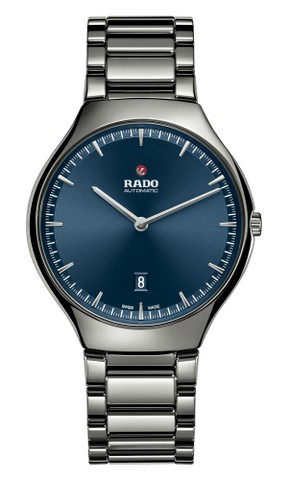 RADO True Thinline Automatic Blue Dial Plasma Ceramic Men's Watch R27088202