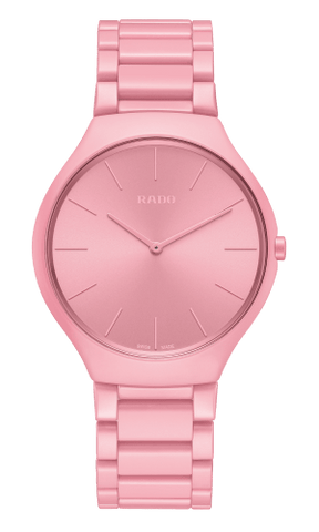 RADO True Thinline Pink Les Couleurs Le Corbusier Unisex Watch R27094642