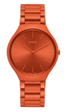 RADO True Thinline Orange Les Couleurs Le Corbusier Unisex Watch R27095652