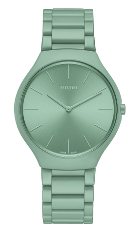 RADO True Thinline Les Couleurs Le Corbusier English Green Unisex Watch R27096662