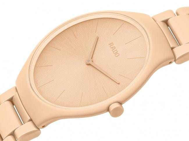RADO True Thinline Pale Sienna Les Couleurs Le Corbusier Unisex Watch R27097672