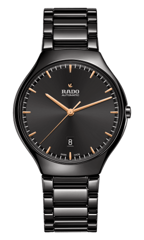 RADO True Thinline Automatic Black Ceramic Men's Watch R27113172