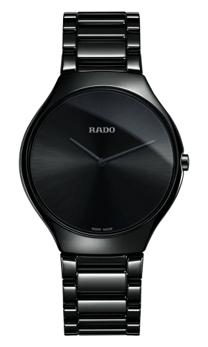 RADO True Thinline Black High-Tech Ceramic Men's Watch R27741182