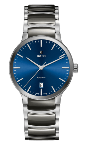 RADO Centrix Automatic Blue Dial Ceramic Men's Watch R30010202