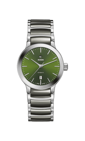 RADO Centrix Automatic Green Dial Ceramic Women's Watch R30011312