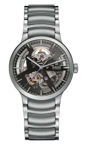 RADO Centrix Automatic Open Heart 38mm Grey-Black Men's Watch R30179113