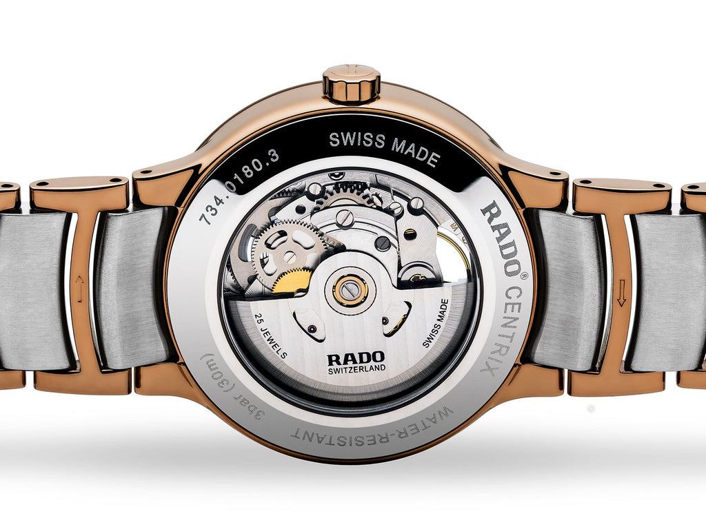 RADO Centrix Automatic Open Heart 38mm Rose-Gold PVD Men's Watch R30181103