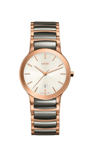 RADO Centrix 28mm Rose Gold-Plasma Ceramic Women's Watch R30555022