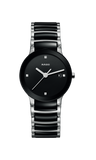 RADO Centrix Diamonds 28mm Black-Silver Women's Watch R30935712