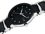RADO Centrix Diamonds 28mm Black-Silver Women's Watch R30935752