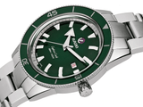 RADO Captain Cook Automatic 42mm Green Dial Stainless Steel Men's Watch R32105313