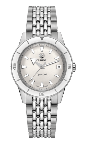 RADO Captain Cook Automatic 37mm Silver Dial Stainless Steel Unisex Watch R32500013