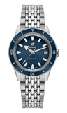 RADO Captain Cook Automatic 37mm Blue Dial Stainless Steel Unisex Watch R32500203
