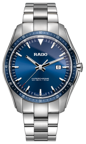 RADO Hyperchrome Quartz 44.9mm Blue Dial Men's Watch R32502203