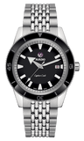 RADO Captain Cook Automatic 42mm Black Dial Stainless Steel Men's Watch R32505153