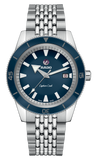 RADO Captain Cook Automatic 42mm Blue Dial Stainless Steel Men's Watch R32505203