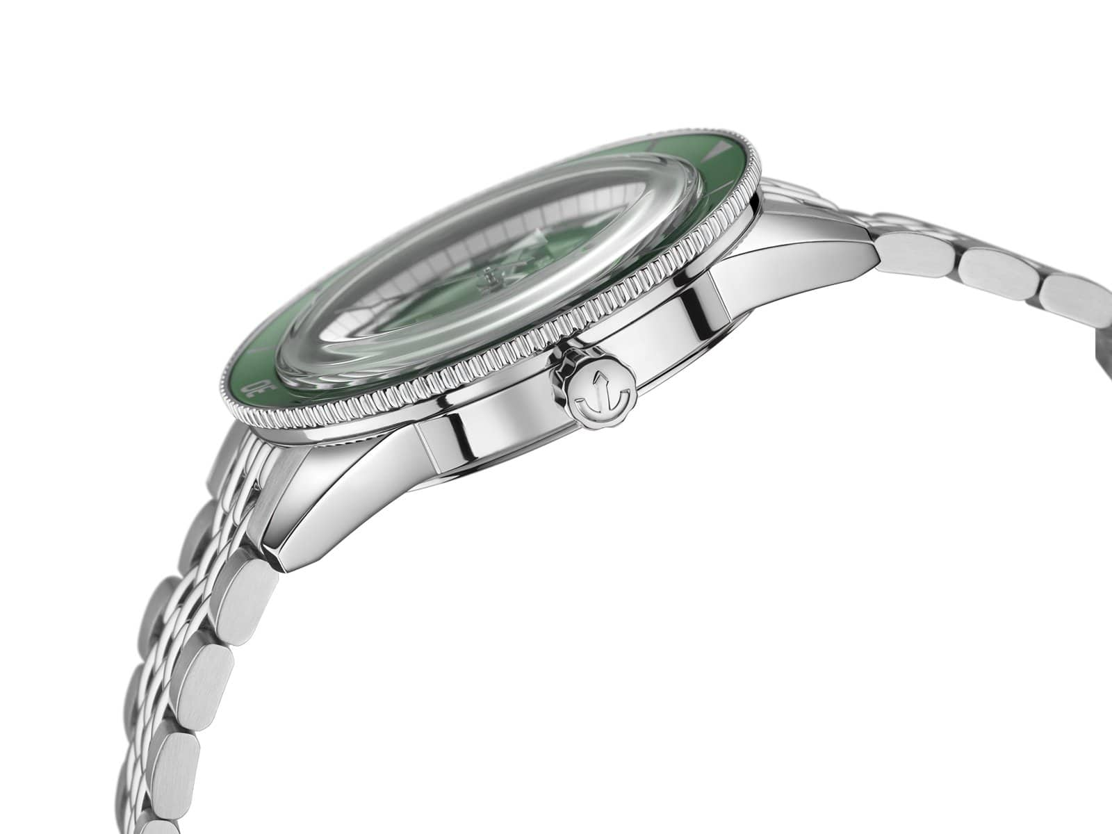 RADO Captain Cook Automatic 42mm Green Dial Stainless Steel Men's Watch R32505313