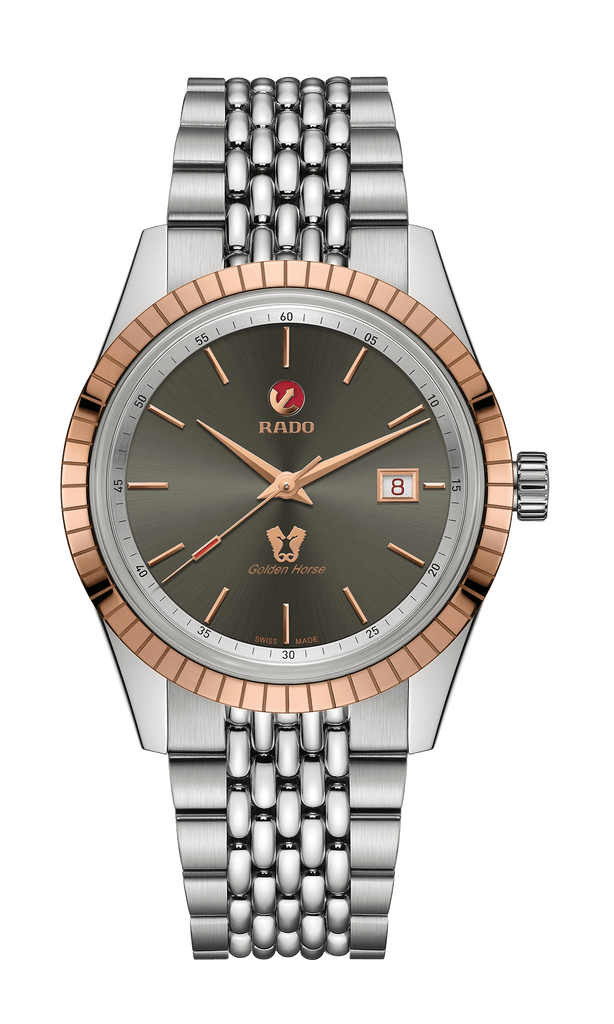 RADO Golden Horse Automatic Grey Dial Stainless Steel Men's Watch R33100103